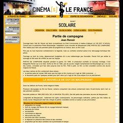 Cinéma LE FRANCE : Partie de campagne