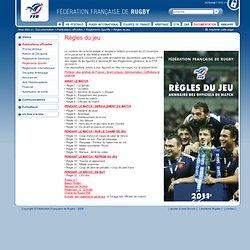 Documentation / Publications officielles / Règlements Sportifs / Règles du jeu