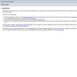 Tweener Documentation and Language Reference