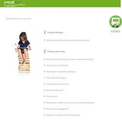 Documentation et ressources - PRÉCAPRÉCA