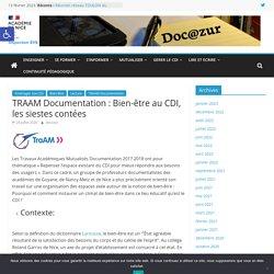 TRAAM Documentation : Bien-être au CDI, les siestes contées – Doc@zur
