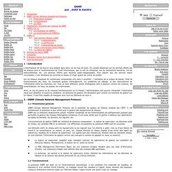Documentation SNMP