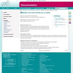 Réaliser une carte mentale sur un métier - Documentation