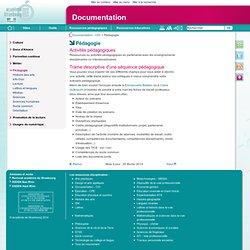 Pédagogie - Documentation