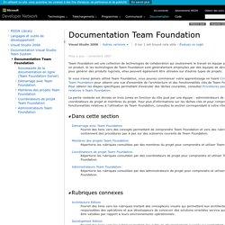 vsts - documentation