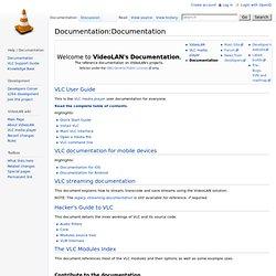 Documentation:Documentation