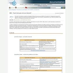"""documentation - EMI : """"tout n'est pas vrai sur internet"""""""