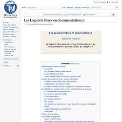 Les Logiciels libres en documentation/2
