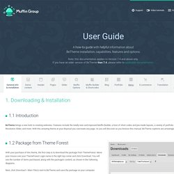 Documentation for Be WordPress Theme