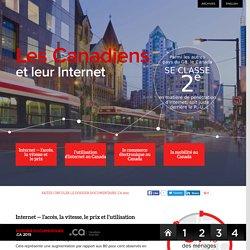 Les Canadiens et leur Internet - 2015