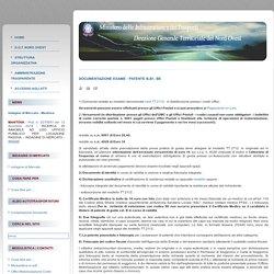Documentazione Esame - Patente B,B1, BE