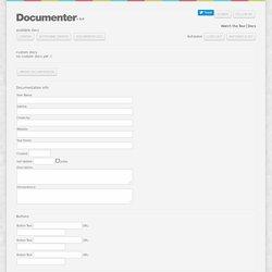 Documenter v 2.0 by revaxarts.com