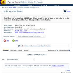 Documento consolidado BOE-A-2015-11719