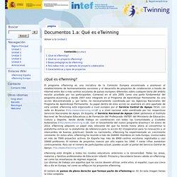 Documentos 1.a: Qué es eTwinning - eTwinning
