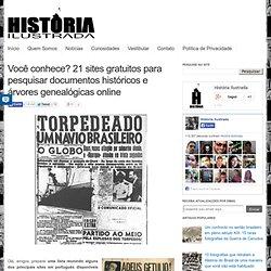 Você conhece? 21 sites gratuitos para pesquisar documentos históricos e árvores genealógicas online