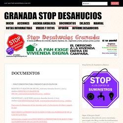 Granada Stop Desahucios