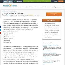 Juan Jaramillo De Andrade - Ensayos - Join4040