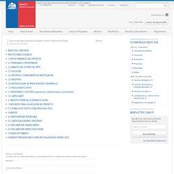 Documentos para postulación Segundo Concurso IDeA en Dos Etapas