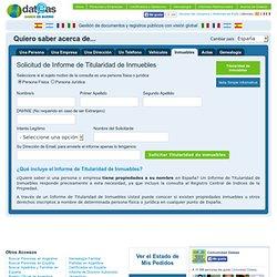 Información y gestión de documentos de Personas y Empresas con visión global