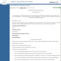 Arrêt de la Cour de Justice européenne concernant le droit de prêt de livre numérique