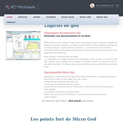 logiciel ged gestion des documents archivage aci-multimedia