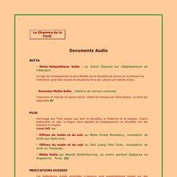 Documents audio