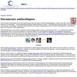 Franc-parler - Dossiers : Documents authentiques