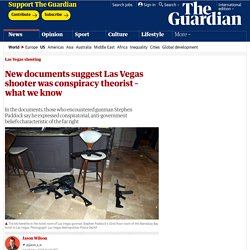 5/19/18: New documents suggest Las Vegas shooter was conspiracy theorist
