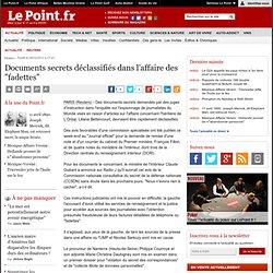 """Documents secrets déclassifiés dans l'affaire des """"fadettes"""""""
