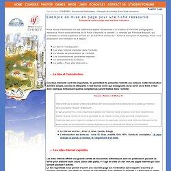 Documents Didactiques > Exemple de création d'une fiche ressource