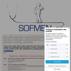 Documents en libre accès - Société Française des Médecins de l'Education Nationale