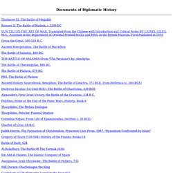 Documents Related to the History of International Relations, pri