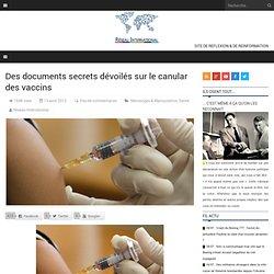 Des documents secrets dévoilés sur le canular des vaccins