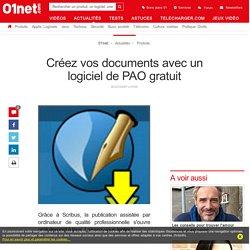 Créez vos documents avec un logiciel de PAO gratuit