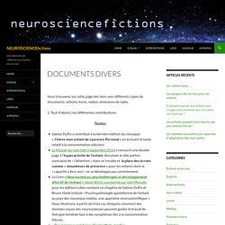NEUROSCIENCEfictions