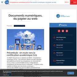 Documents numériques, du papier au web