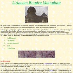and Settings/All Users/Documents/Mes documents/perso audrey/L'Ancien Empire Memphite.htm