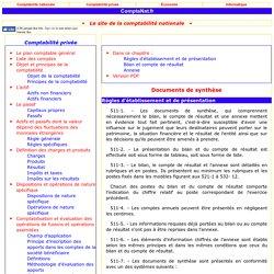 Documents de synthèse