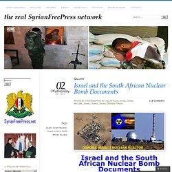 1975 Israel & Apartheid Sud Africain
