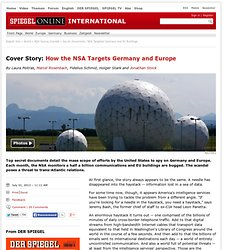 Druckversion - Cover Story: How the NSA Targets Germany and Europe - SPIEGEL ONLINE - News - International