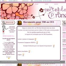 Documents pour TBI au CE1