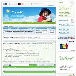 Documents téléchargeables ici (contrat, régie interne, budget, lois...) - Page 18 - Ma Garderie - Forum