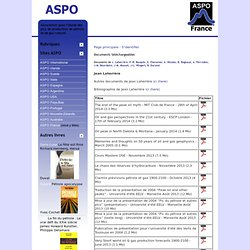 ASPO France - Documents téléchargeables