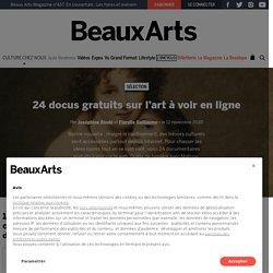 20 docus gratuits sur l'art à voir en ligne