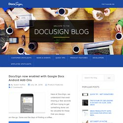 DocuSign Blog