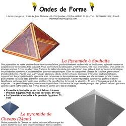 Ondes de Forme et pyramide de cheops dodécaèdre générateur radionique émetteur bague atlante