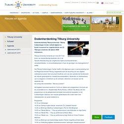 Dodenherdenking Tilburg University