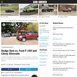Dodge Ram vs. Ford F-150 and Chevy Silverado – Comparison Test
