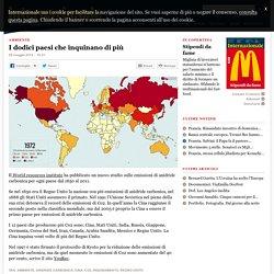 Internazionale » I dodici paesi che inquinano di più