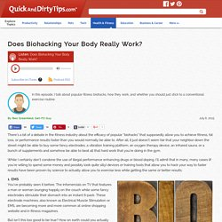 Get-Fit Guy : Does Biohacking Your Body Really Work?